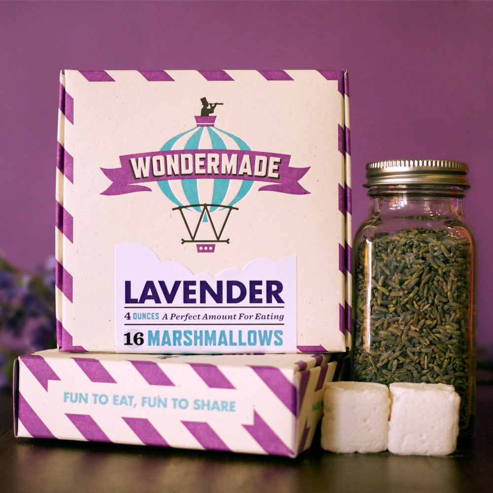 Lavendar Marshmallows
