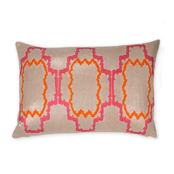 Lilly Coral Pillow