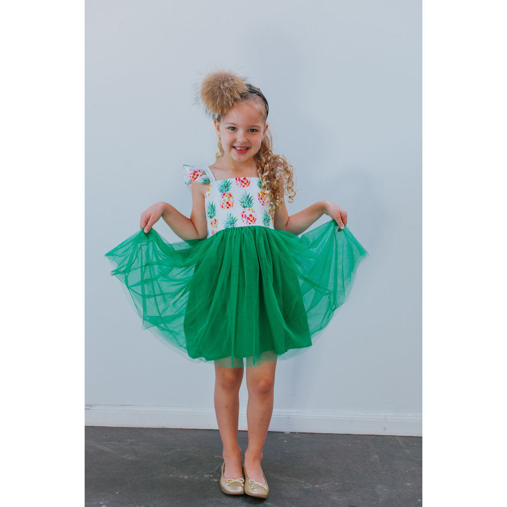 Penelope Pineapple Dress
