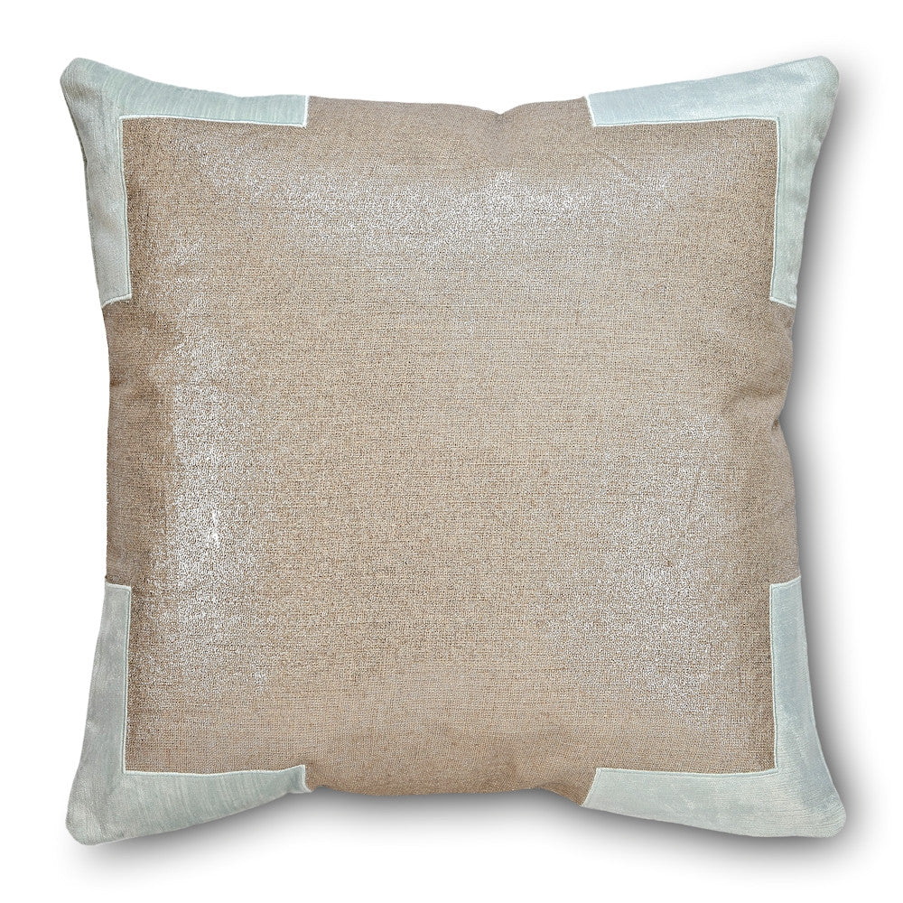 Tracy Blue Flower Pillow