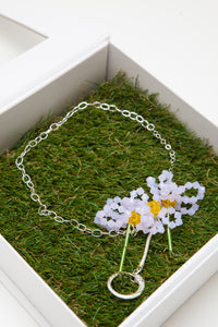 ASTER CHINENSIS - Necklace