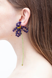 ASTER CHINENSIS - Single earring