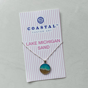 Lake Michigan Sand Necklace