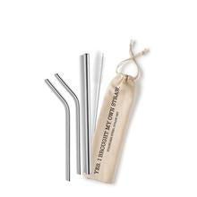Load image into Gallery viewer, Stainless Steel Reusable Straw Set