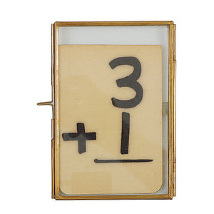 Brass photo frame 4x6