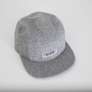 Flannel 5 panel cap