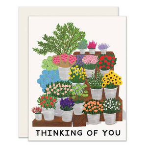 Thinking of You Flower Market Card