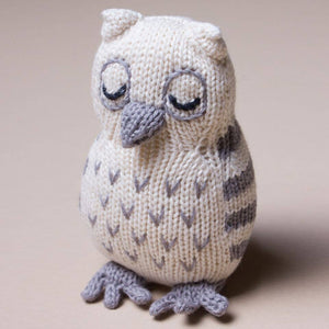 Baby Rattle Toy - Owl Rattle