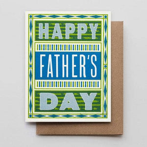 Father's Day Stripes Card