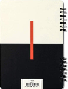 Zénith - Double Spiral Lined Journal