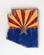 Load image into Gallery viewer, Baby Arizona state wood cutouts
