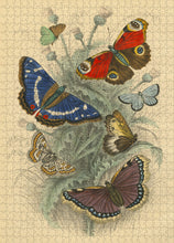 Load image into Gallery viewer, John Derian Dancing Butterflies 750 piece puzzle