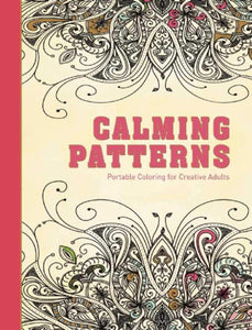 Calming Patterns: Portable Coloring for Creative Adults