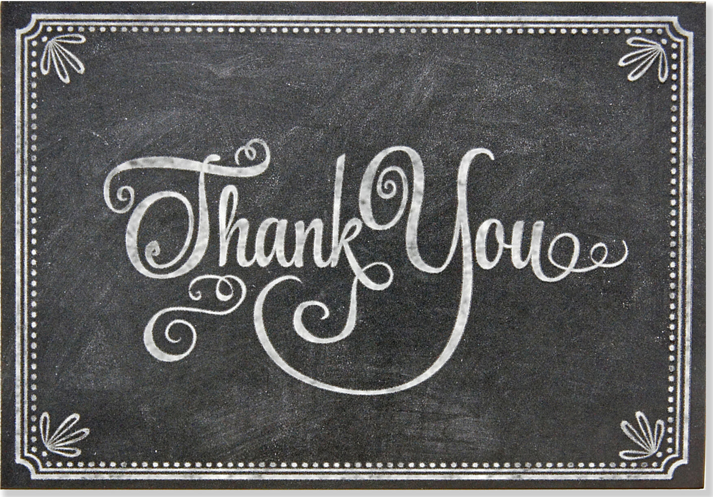 Chalkboard Thank You Notes Set