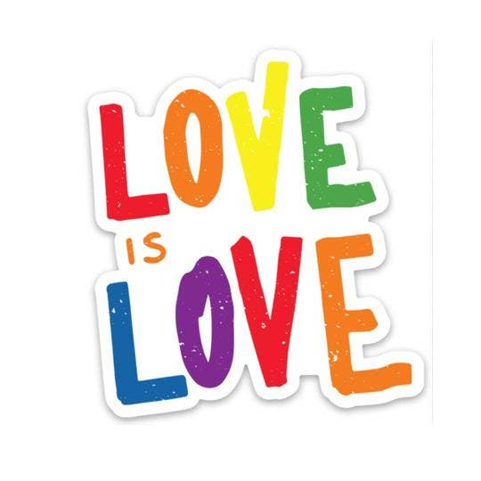 Love is Love Sticker - Lettering