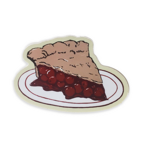 Cherry Pie Illustration Sticker