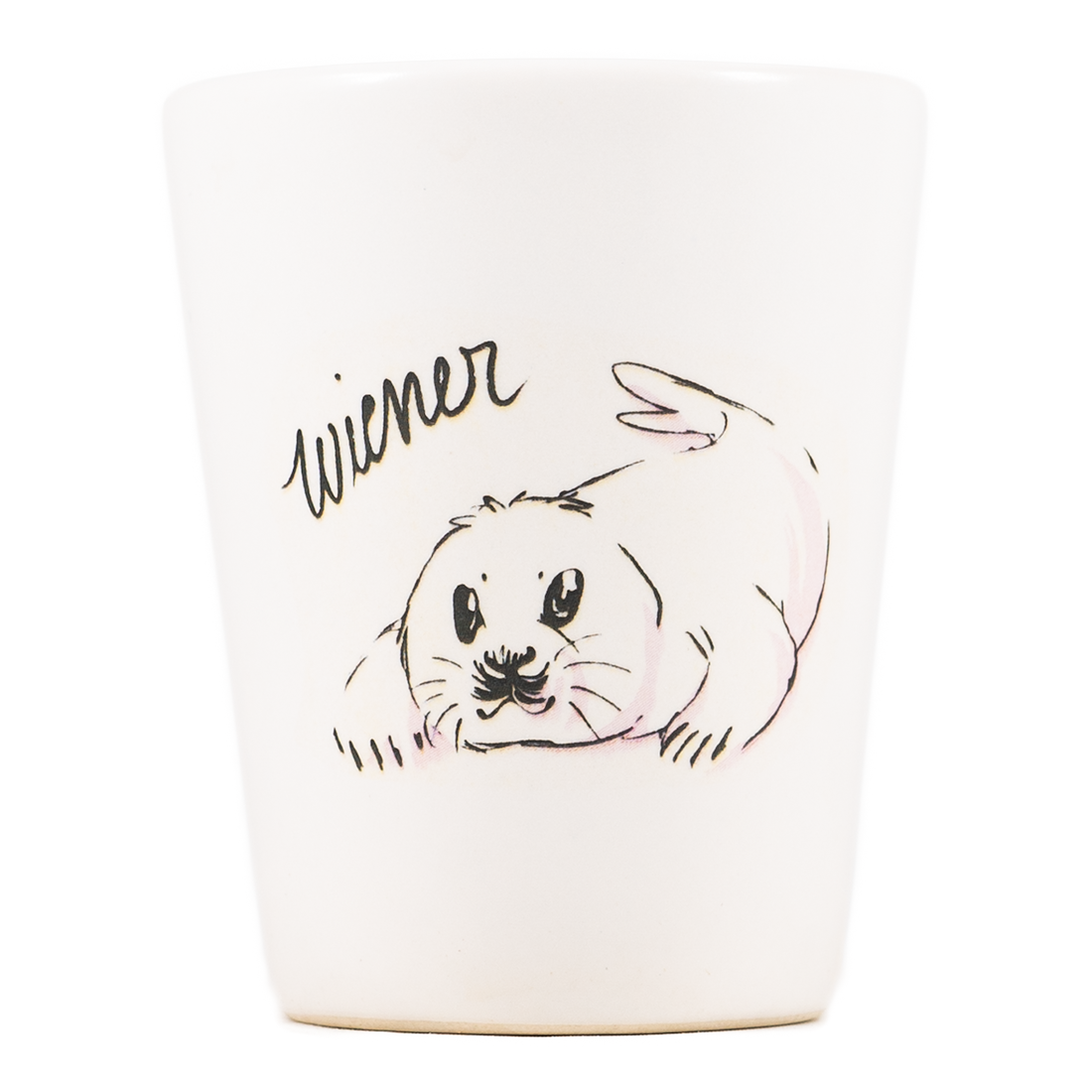 Wiener Seal Dirty Dishes Shot Glass