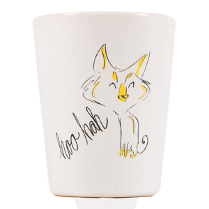 Hoo Hah Cat Dirty Dishes Shot Glass