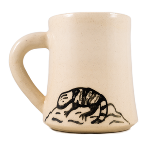 Gila monster mug