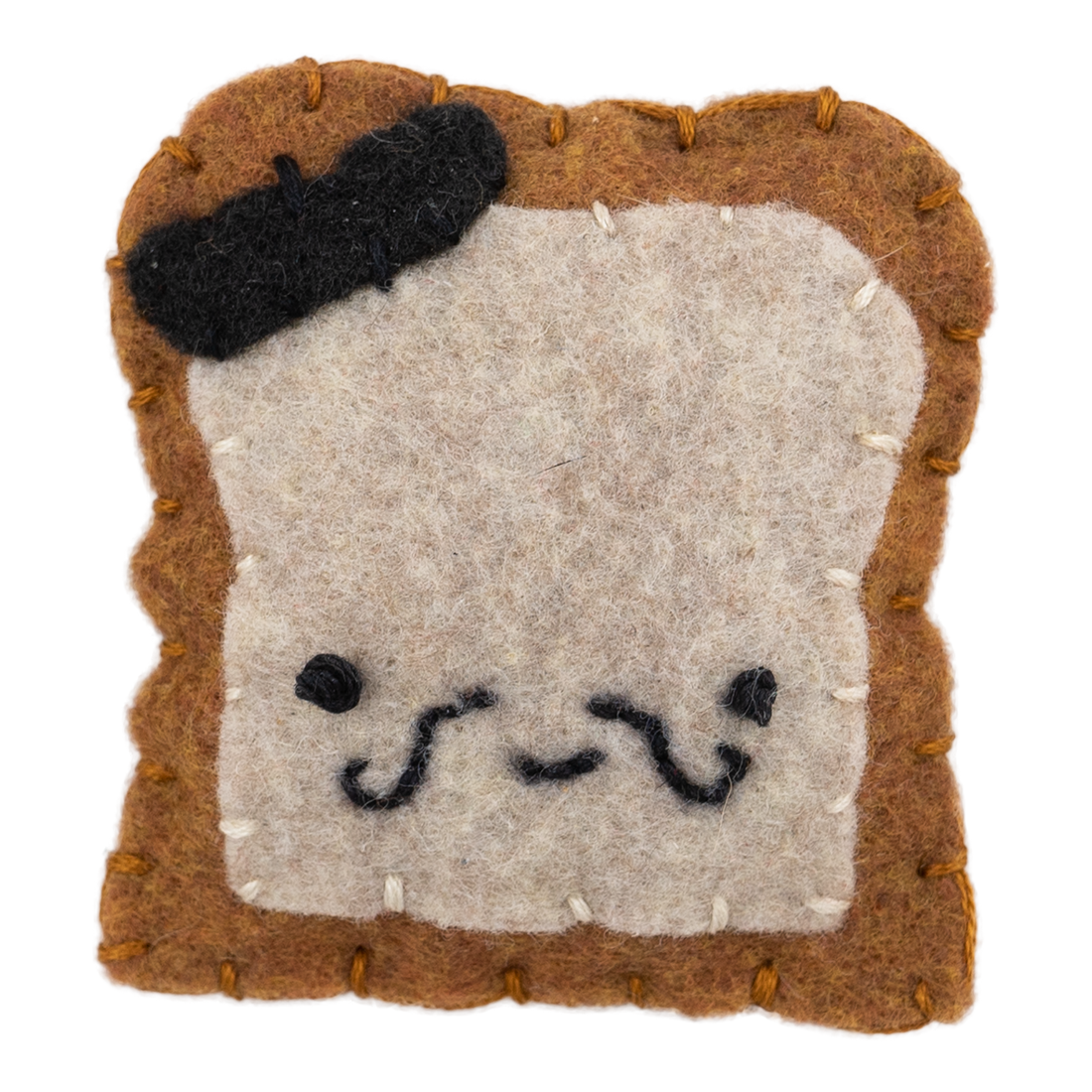 Plush French Toast Magnet