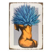 Load image into Gallery viewer, Agave body wood painting