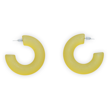 Load image into Gallery viewer, Handmade Acrylic Hoop Earrings