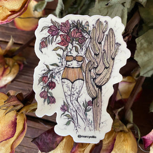 Bougainvillea Dreams sticker