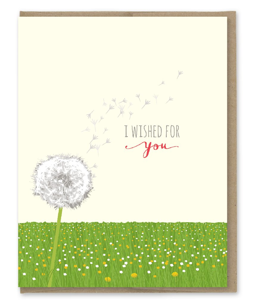 Wished for You Card