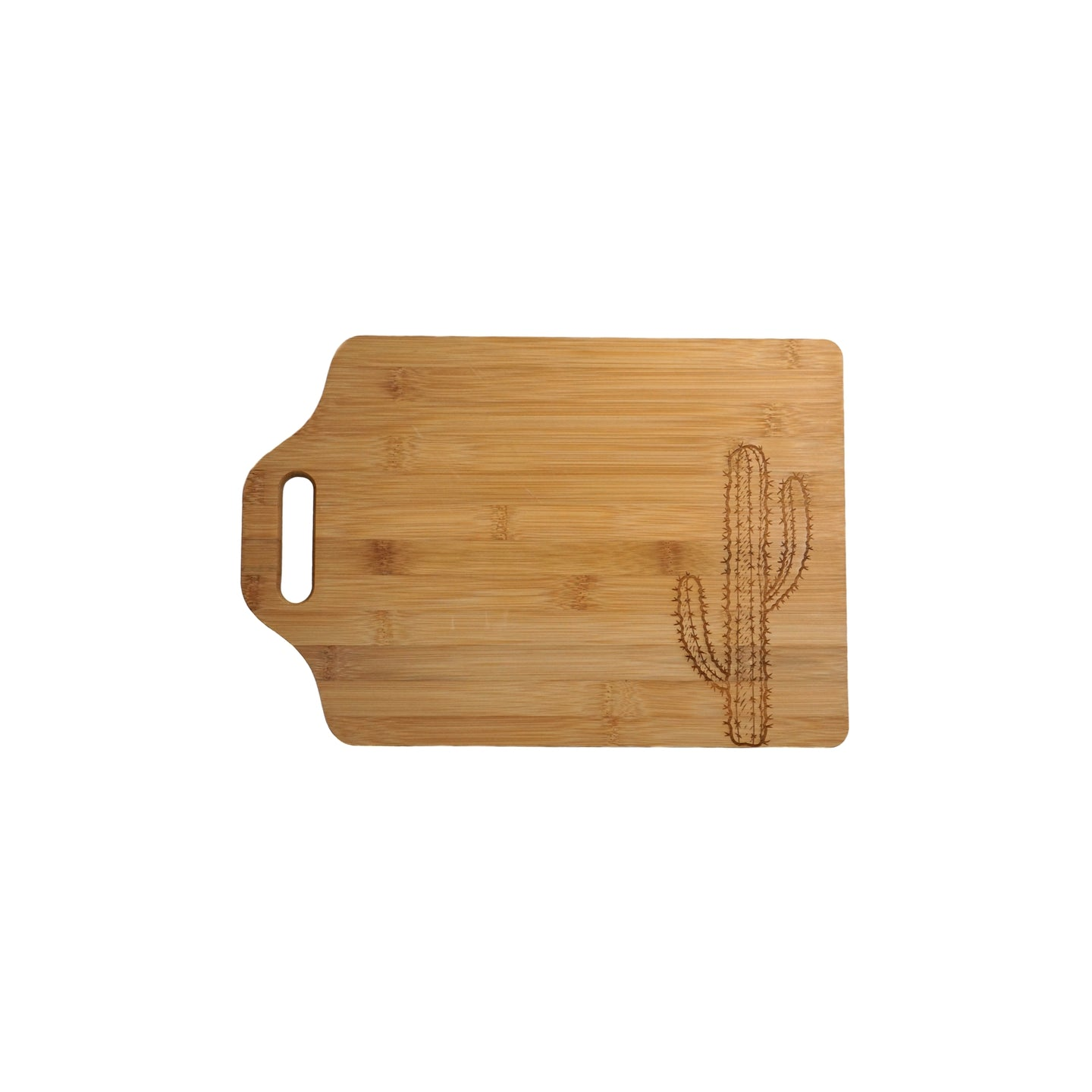 Saguaro cutting board