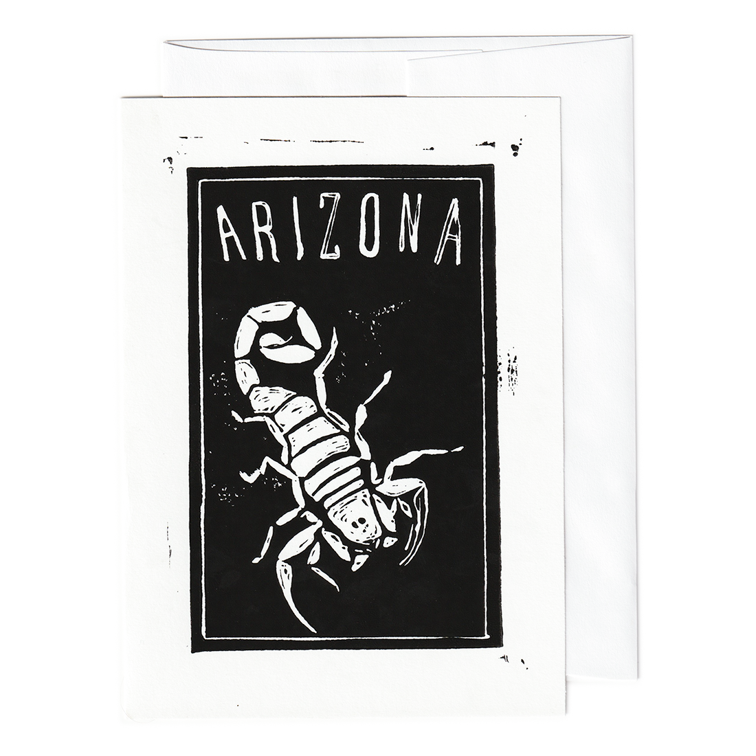 Scorpion Arizona print card