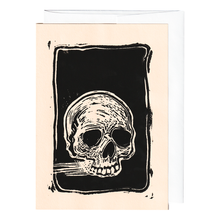 Load image into Gallery viewer, Skull print card