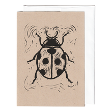 Load image into Gallery viewer, Lady bug print card