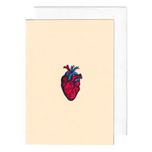 Load image into Gallery viewer, Anatomical heart card