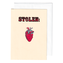 Load image into Gallery viewer, Stolen Heart Card