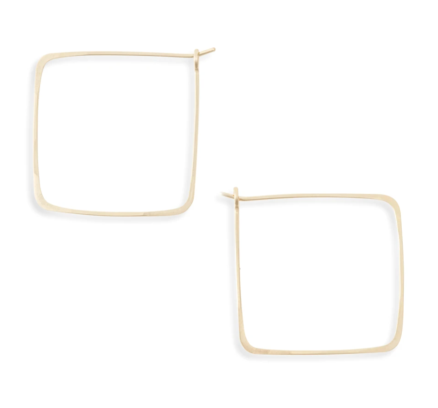 Minimal Large Square Hoops