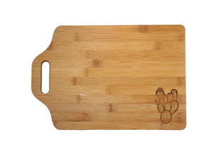 Large Prickly pear cutting board