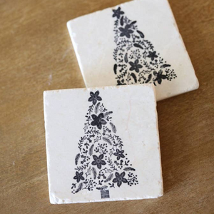 Swedish Christmas Tree Coaster