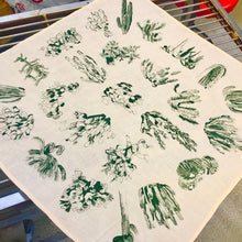Load image into Gallery viewer, Cactus Print Bandana