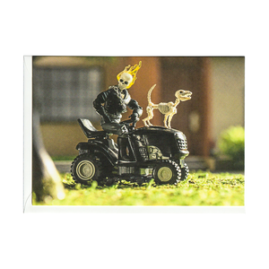 G. Rider Riding Lawn Mower Card