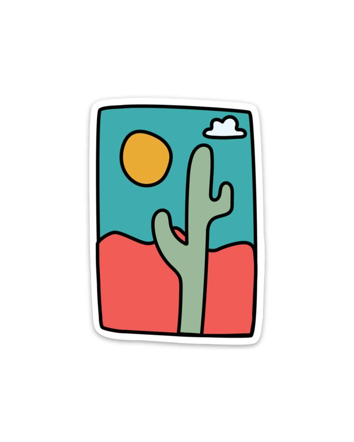 Desert Days Sticker