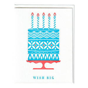 Wish Big Birthday Card