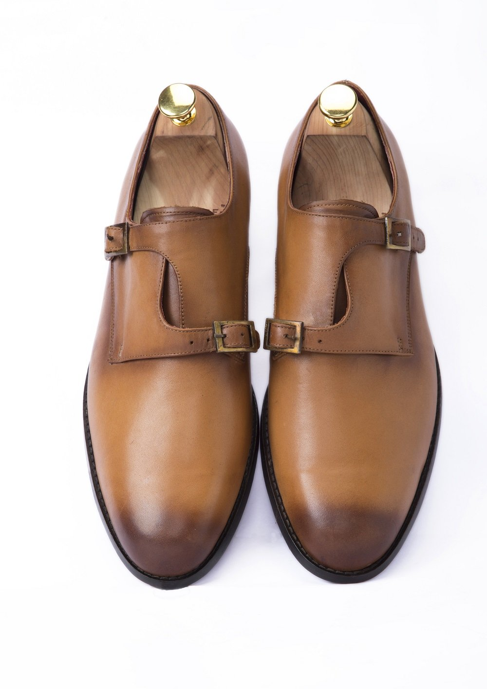 TAN ALTERNATE MONK STRAPS - Shop Lozano