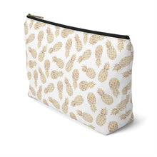 Load image into Gallery viewer, Pineapple Accessory Bag w T-bottom