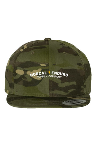 Embroidered Multicam Tropic Premium Snapback
