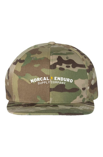 Embroidered Multicam Green Premium Snapback
