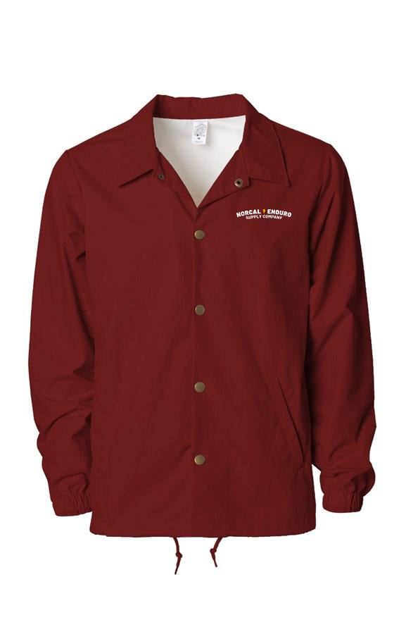 NorCal Enduro Cardinal Coaches Jacket