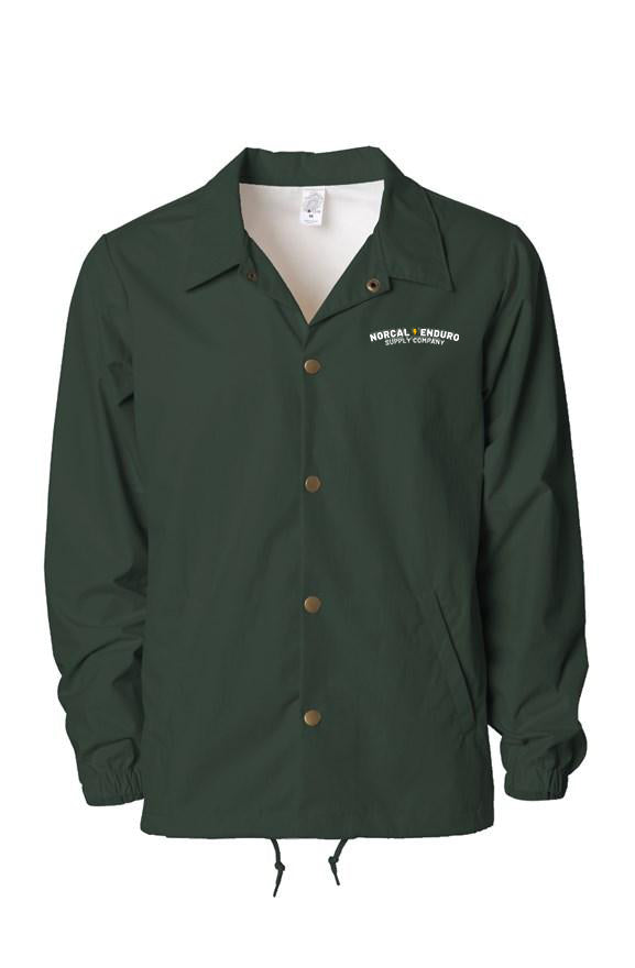 NorCal Enduro Forest Green Coaches Jacket