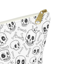 Load image into Gallery viewer, Skully Accessory Bag w T-bottom