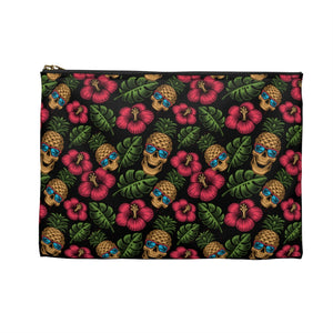 Tropical Skully Accessory Bag