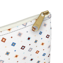 Load image into Gallery viewer, Pastel Squares Accessory Bag